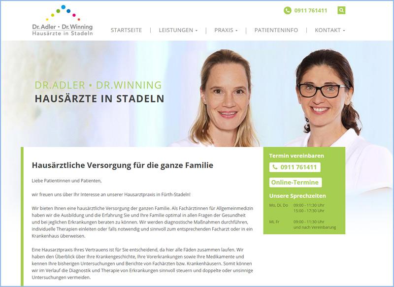 Allgemeinmedizin, Geriatrie, Ernährungsmedizin, Dr. Adler • Dr. Winning, Fürth-Stadeln